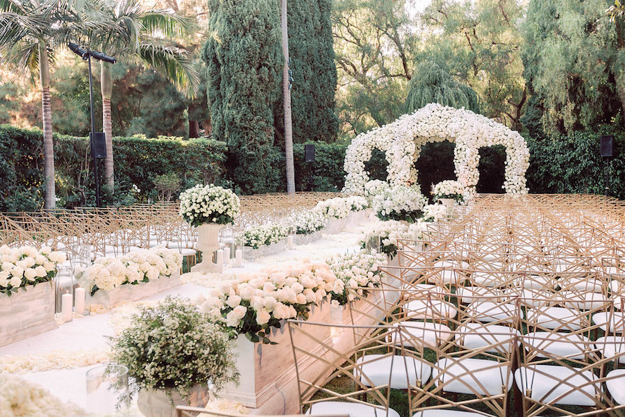 Glam Celebrity Wedding Featured in Grace Ormonde