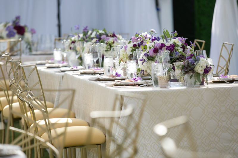 Lavender Gold Rancho Valencia Wedding