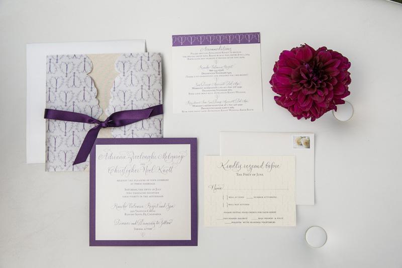Lavender Gold Rancho Valencia Wedding
