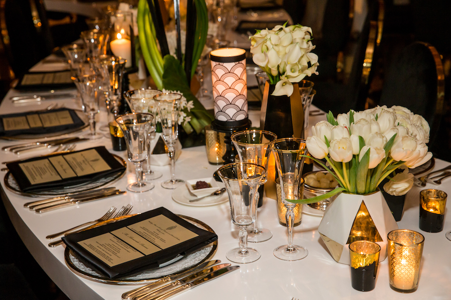 Luxury Art Deco Wedding Featured on Inside Weddings