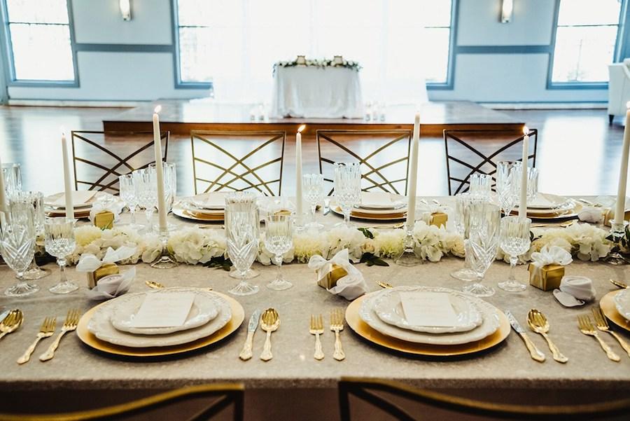 Vintage Glam Wedding Inspiration Featured on WeddingLovely