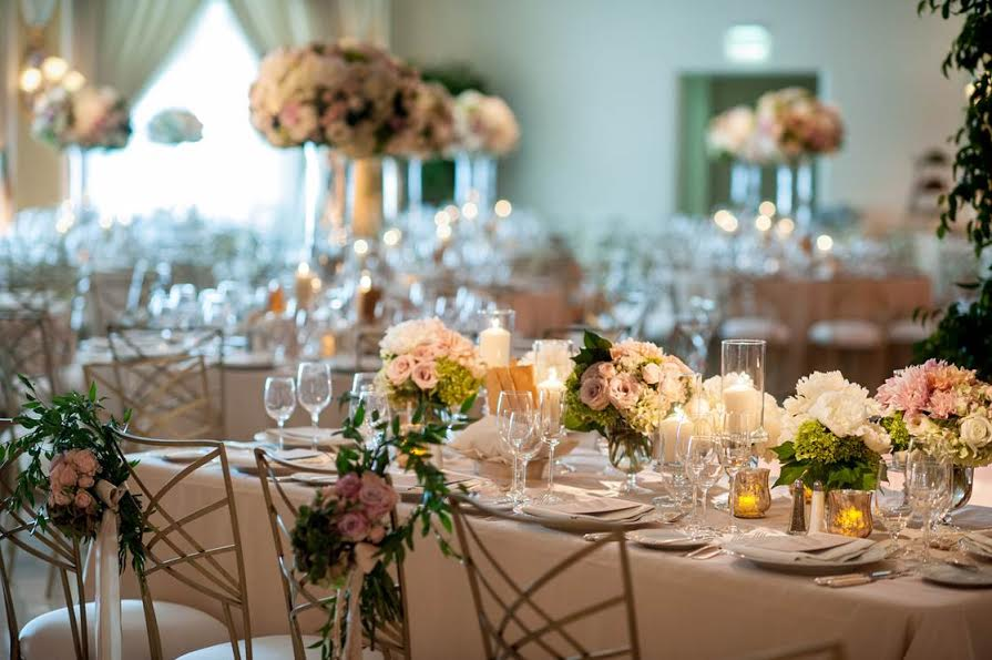 Lush Beverly Hills Hotel Wedding