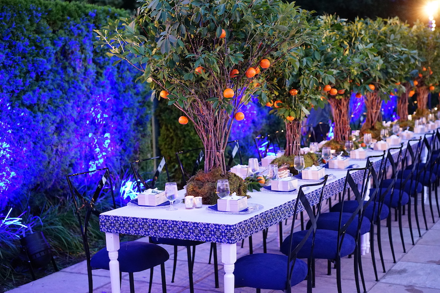 Orange Grove Dinner Party Featured on PartySlate1