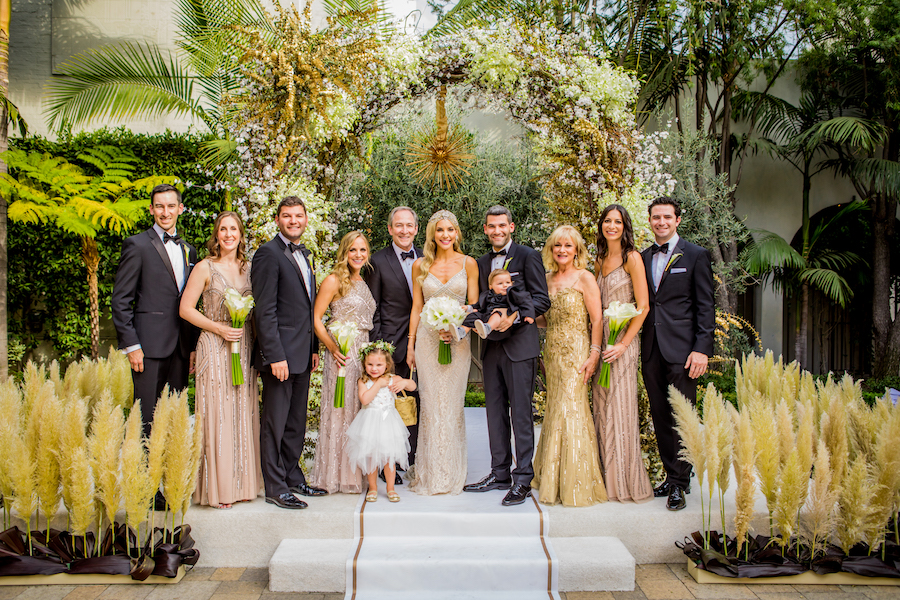 Glamorous Art Deco Wedding Featured on Inside Weddings1