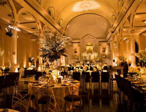 Glamorous Art Deco Wedding Featured on Inside Weddings