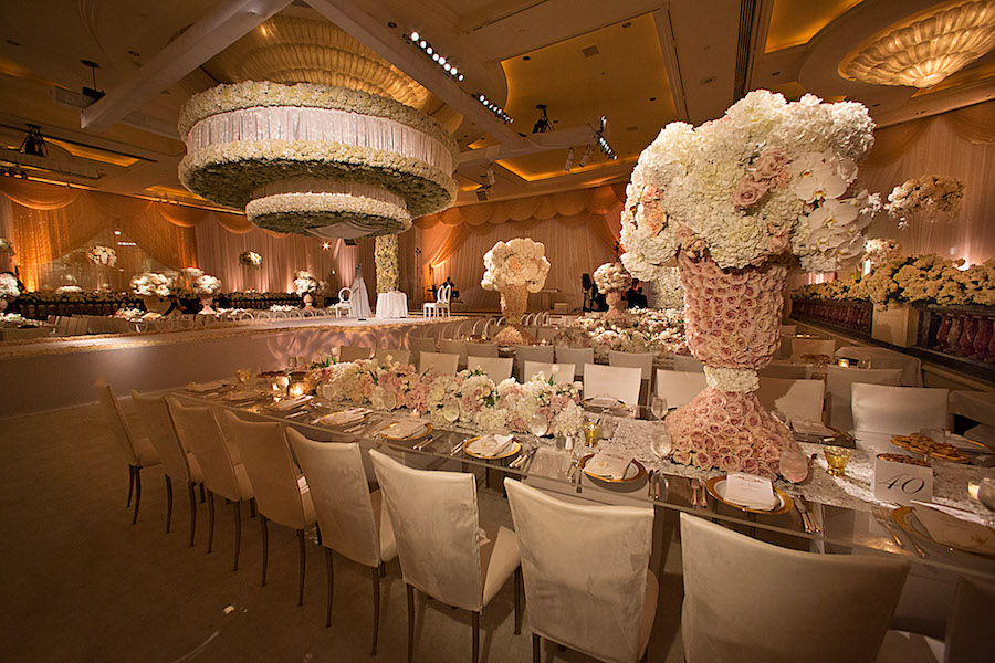 Romantic Pastel Beverly Wilshire Wedding Featured on Grace Ormonde1