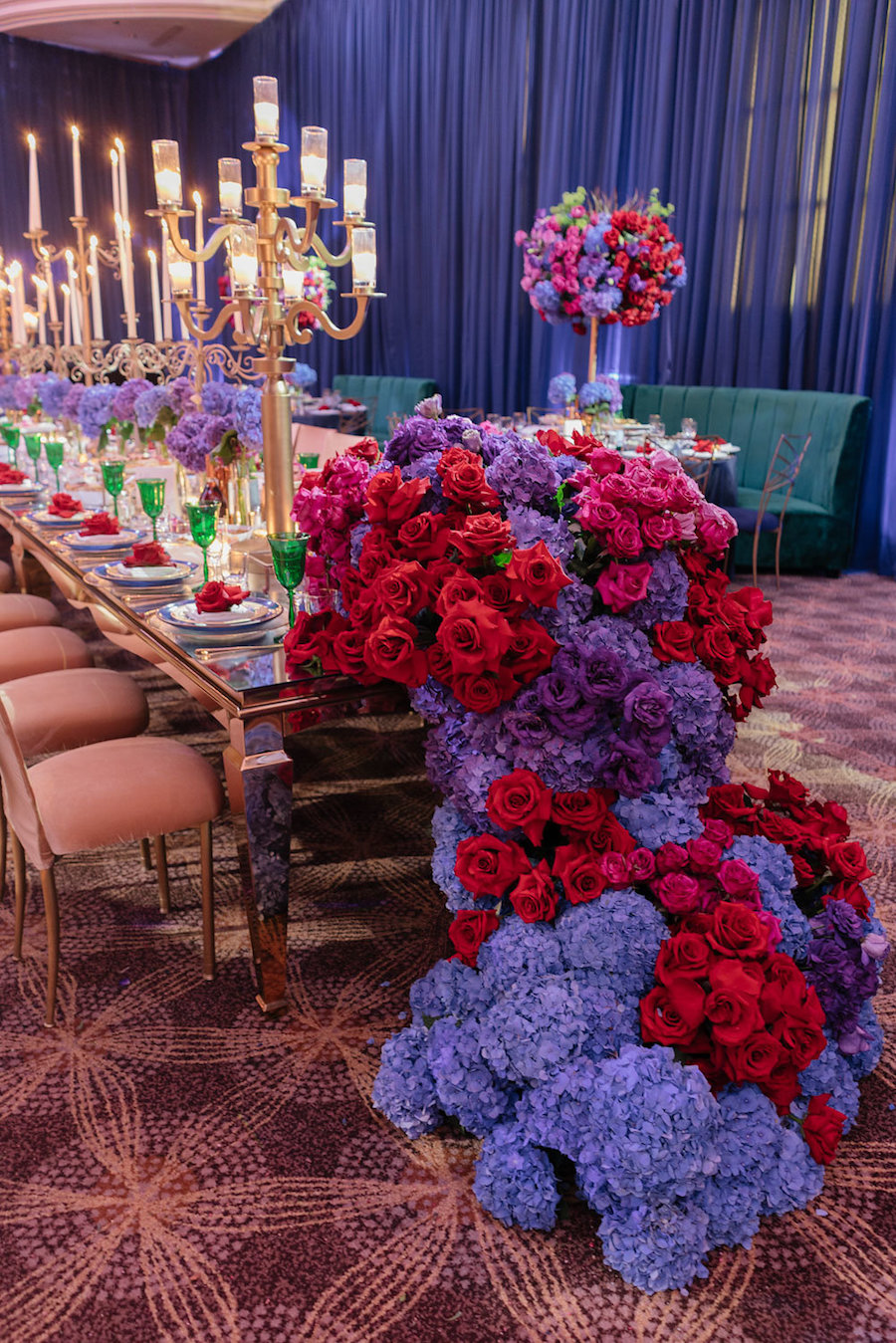 Sophisticated Floral Fairytale Featured on Strictly Weddings1