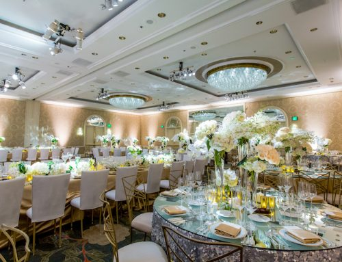 Sophisticated Four Seasons Beverly Hills Wedding