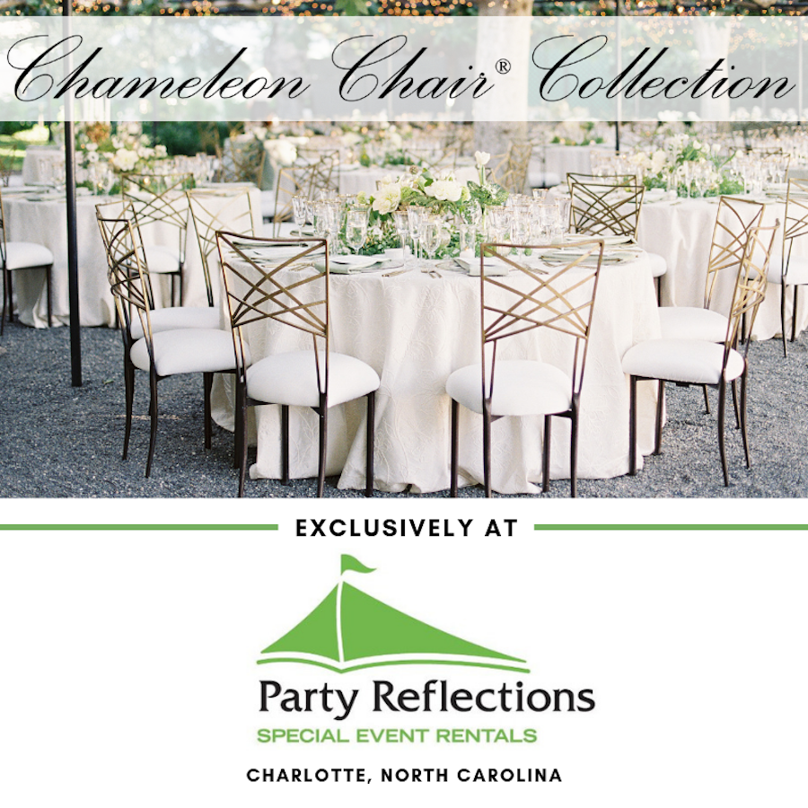 Chameleon Chair Collection Now Available at Party Reflections