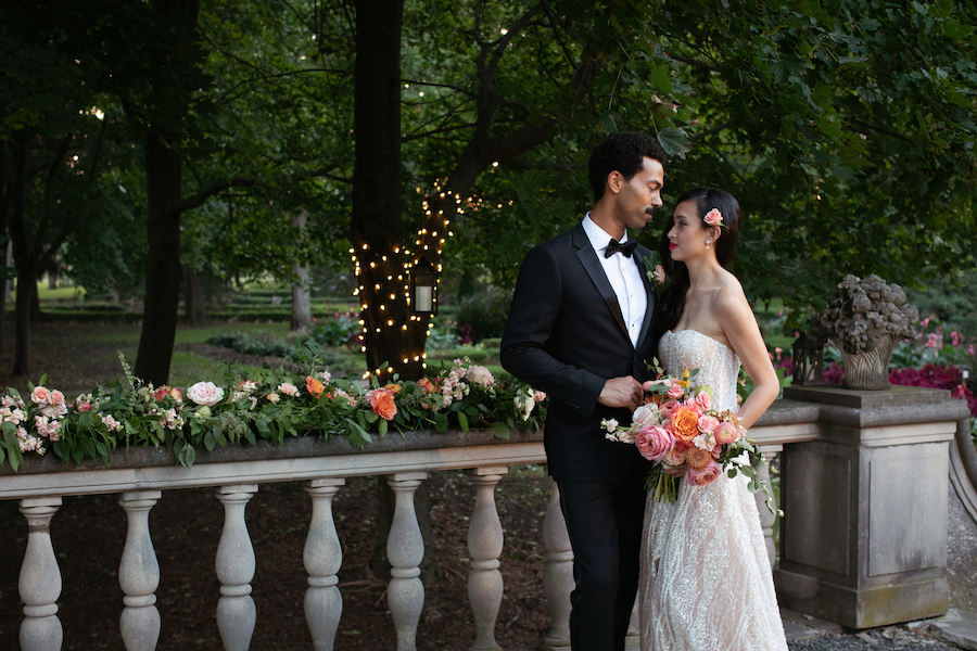 Cuneo Mansion Romantic Shoot