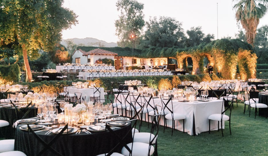 Modern Chic La Quinta Wedding Featured on PartySlate