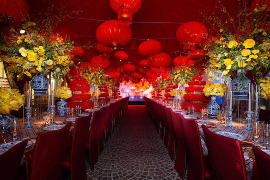 Chinese New Year Party Featured on BizBash