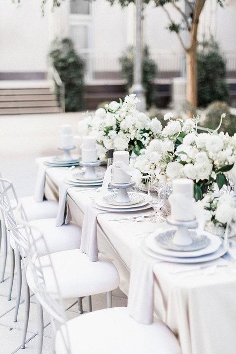Pearl Gray Wedding Featured on Hey Wedding Day