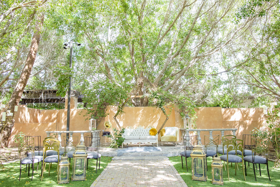 A Whimsical Great Gatsby Wedding At the Royal Palms