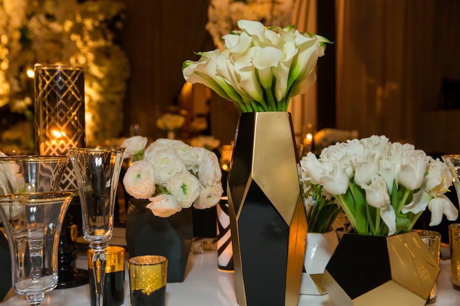 Luxury Art Deco Wedding Featured on Inside Weddings