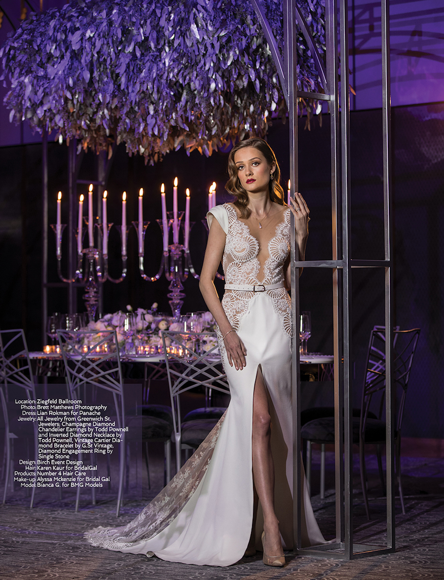 Chameleon Chair Collection Featured in Sophisticated Weddings: New York Edition