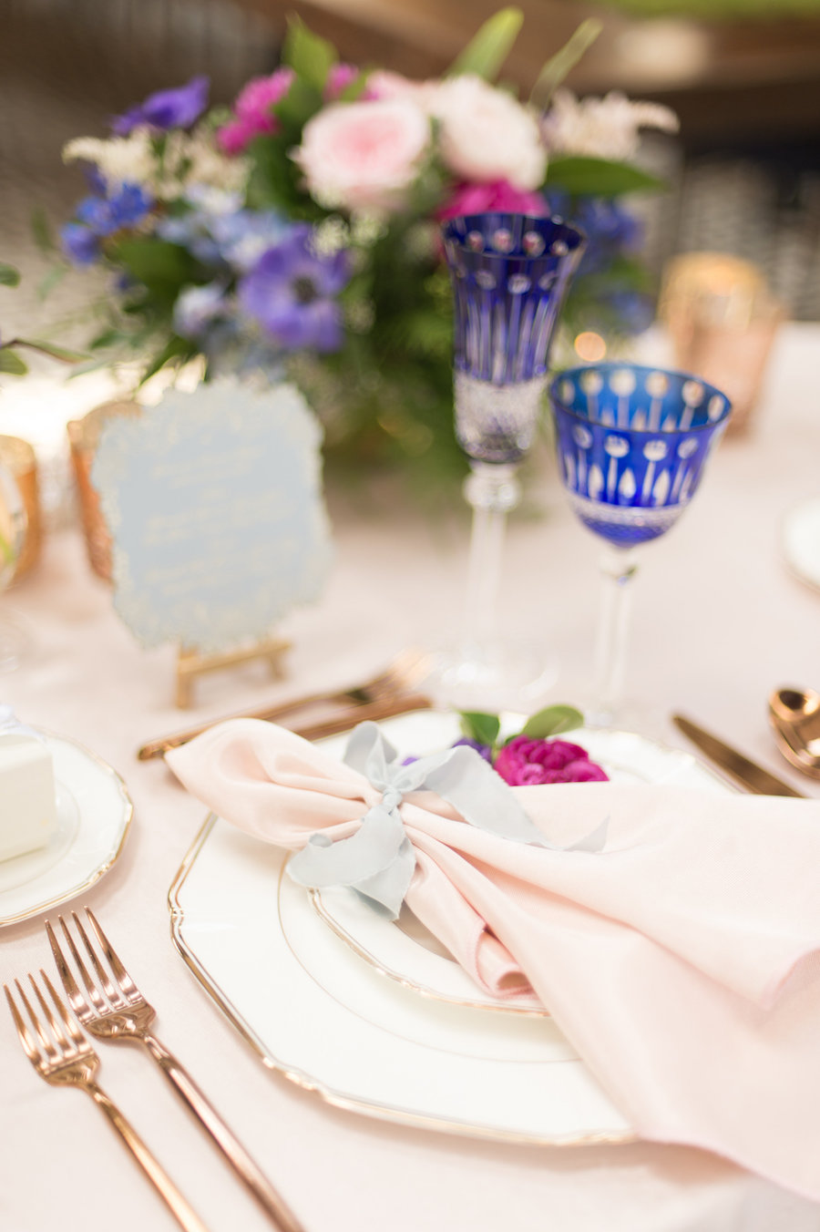 Starry Night Styled Shoot Featured on The Knot