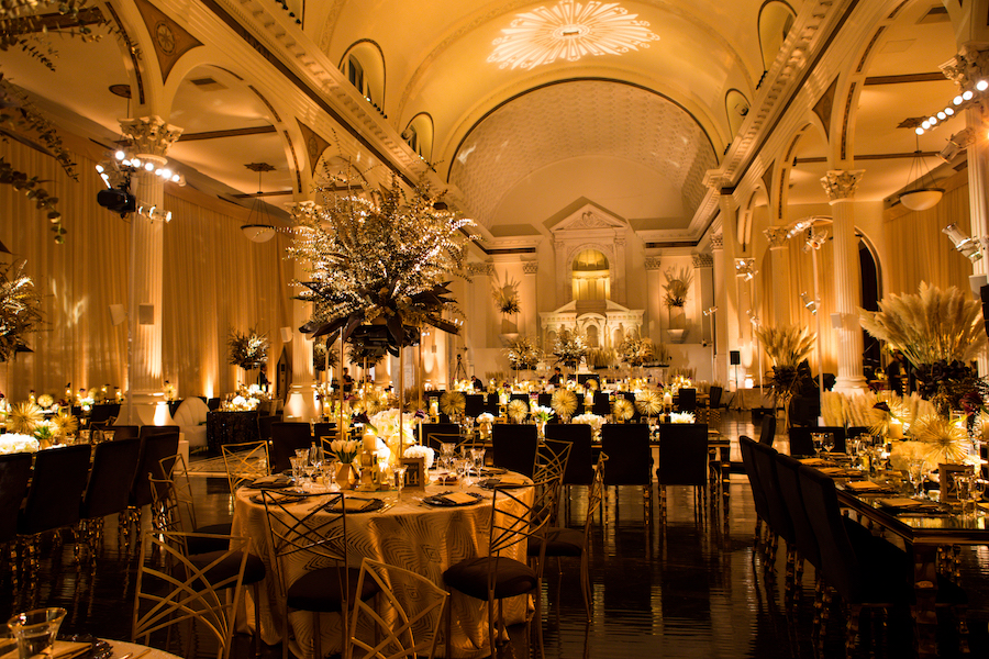 Glamorous Art Deco Wedding Featured on Inside Weddings1