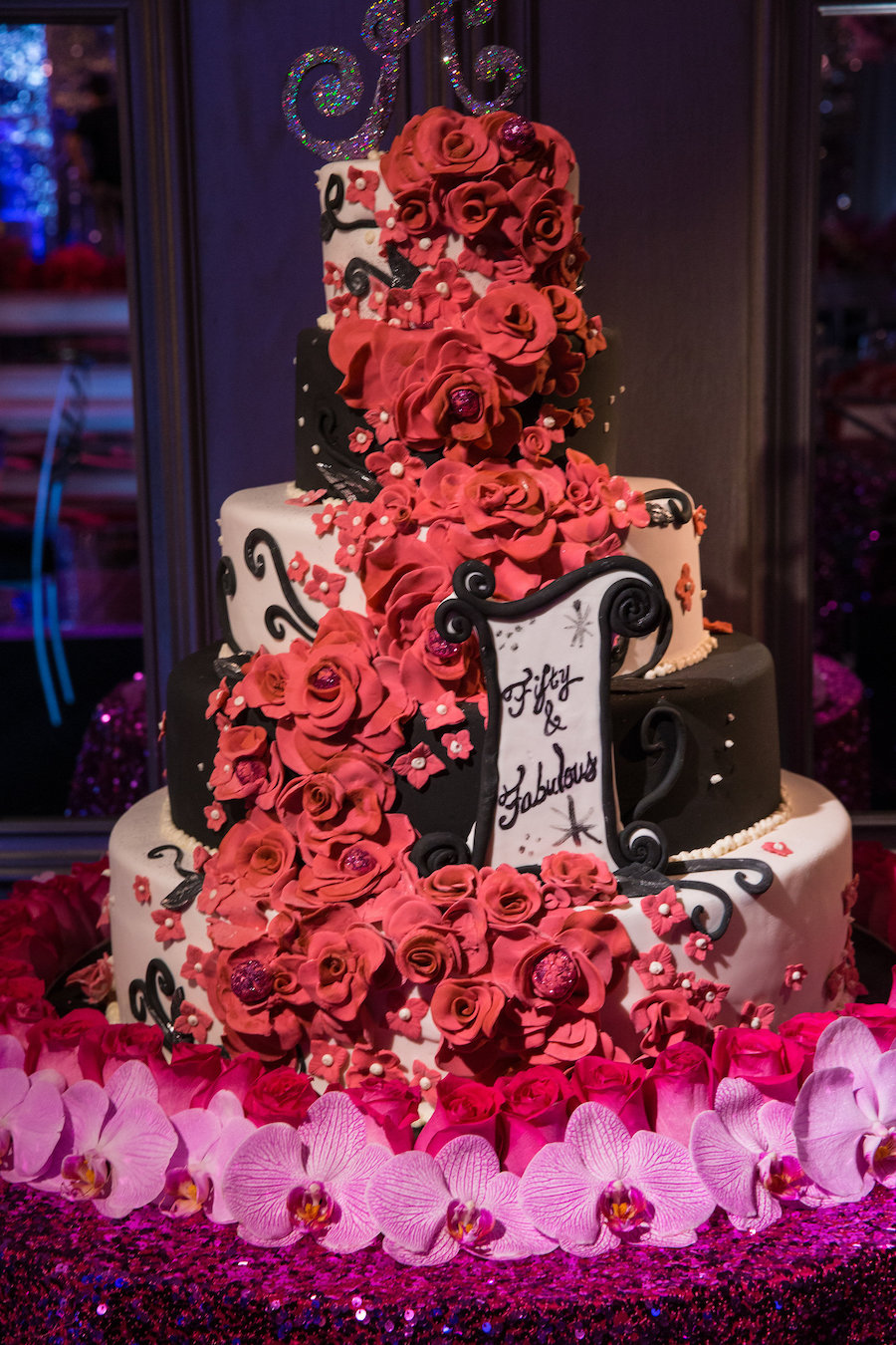 Fifty and Fabulous Themed Birthday Celebration1
