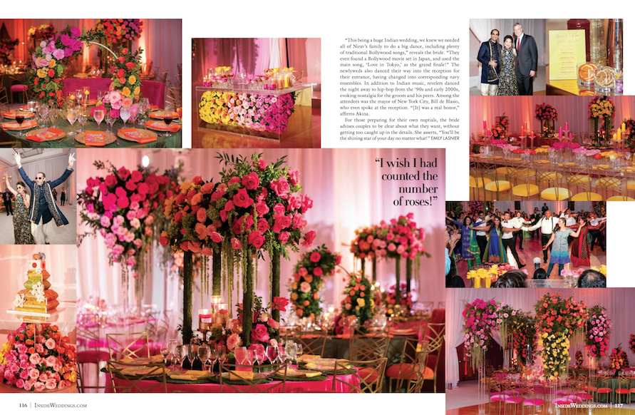 Vibrant New Jersey Wedding Featured in Inside Weddings1