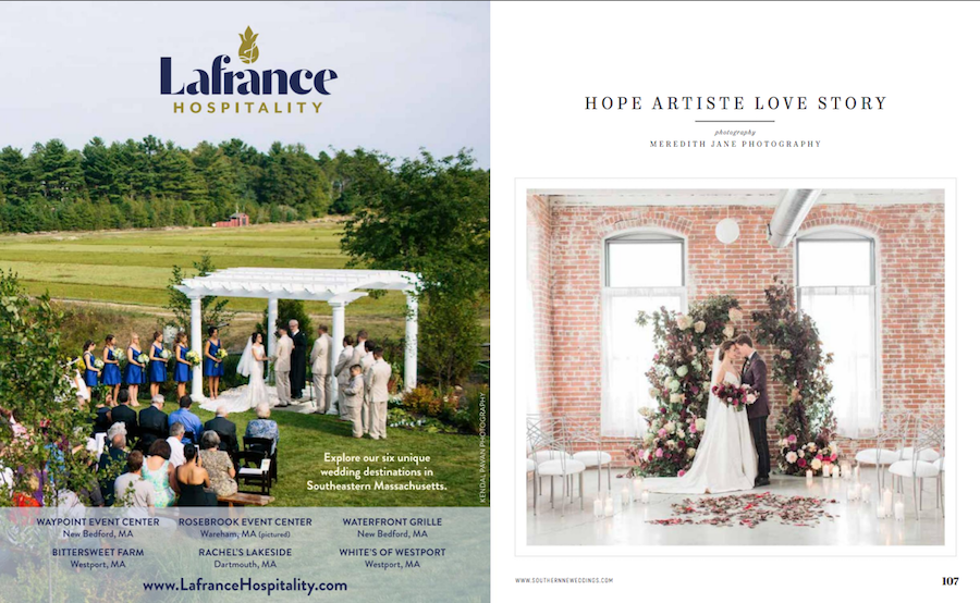 Burgundy Wedding Inspiration Featured in Southern New England Wedding Magazine17