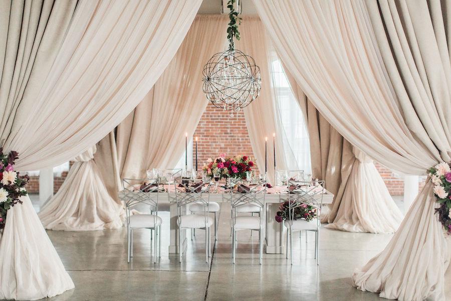 Burgundy Wedding Inspiration Featured in Southern New England Wedding Magazine