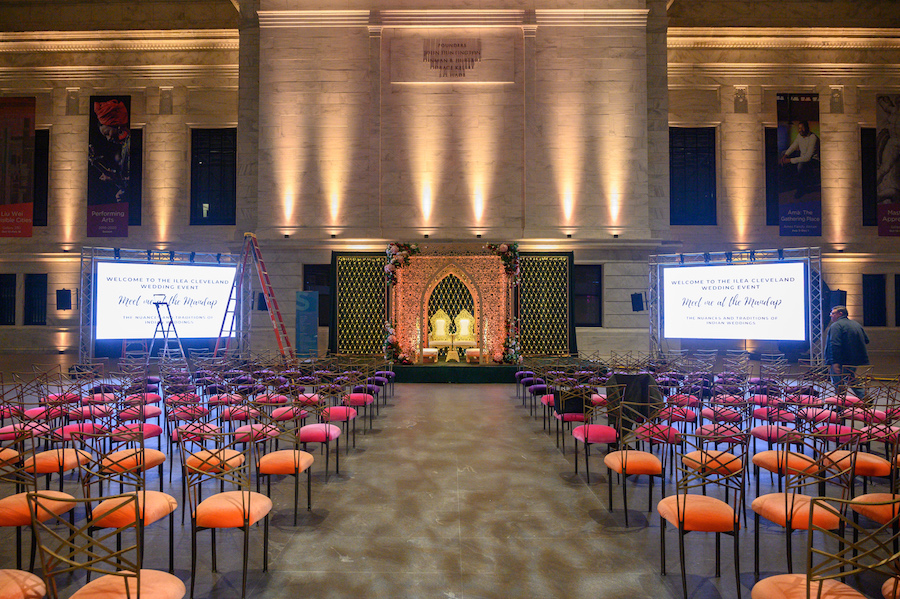 ILEA Colorful Cleveland Wedding Event1