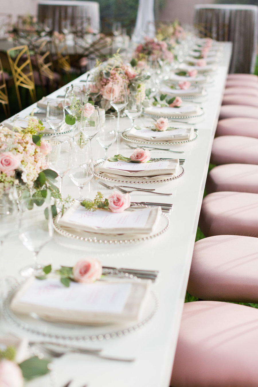 Pastel Pink 50th Birthday Party