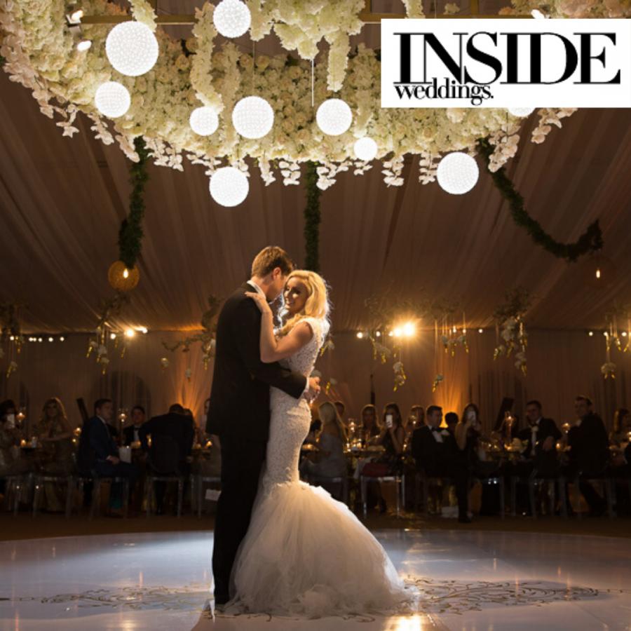 Tuscan Inspired Wedding Featured on Inside Weddings