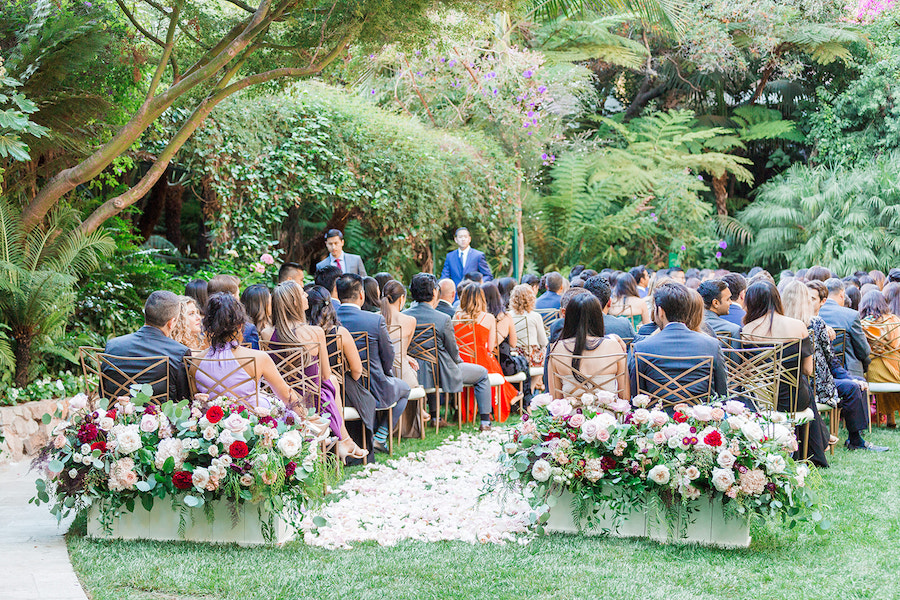Hotel Bel Air Wedding Featured on Southern California Bride