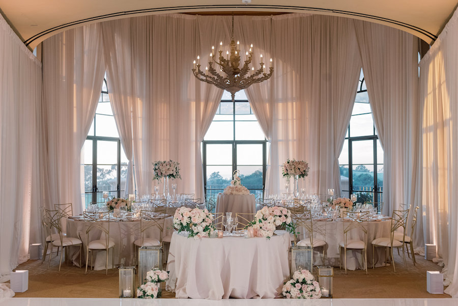 Whimsical pelican hill resort wedding
