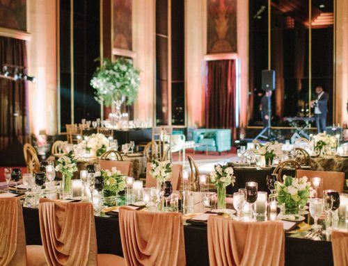 Modern Art Deco Pittsburgh Wedding
