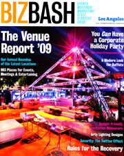 BizBash Los Angeles October 2009