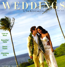 Weddings by The Ritz Carlton January-June 2012