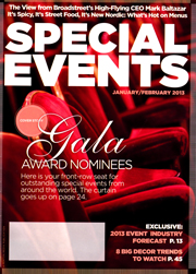 Special Events January/February 2013