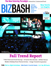 BizBash New York & Los Angeles September/October 2011