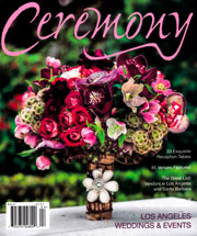 Ceremony Magazine, Los Angeles Weddings & Events April 2014