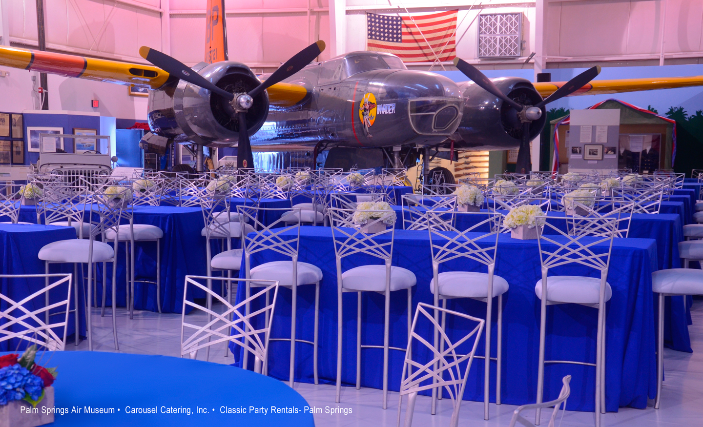 Bmw Palm Springs >> Corporate Events - 2011 - Palm Springs Air Museum, Palm Springs (Carousel Catering Inc., Classic ...