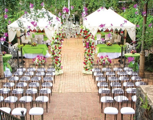 Weddings 2010 Maui Hawaii Pacific Event Group White Orchid Wedding