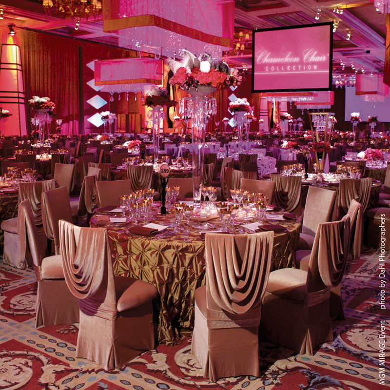 Banquet Halls In Las Vegas For Rent : Las vegas mgm mirage event banquet chairs for sale and rent