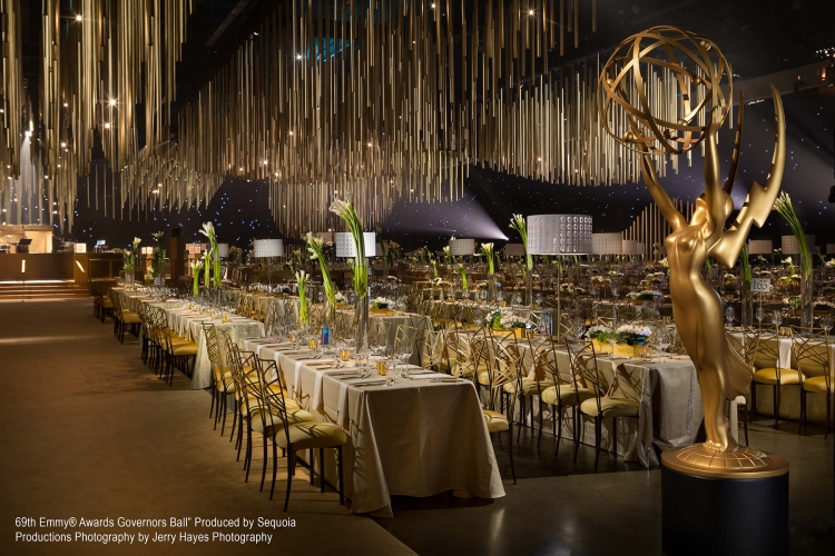 "Awards Shows - 2017 - ""69th Emmy® Awards Governors Ball"" Produced by Sequoia Productions Photography by Jerry Hayes Photography"