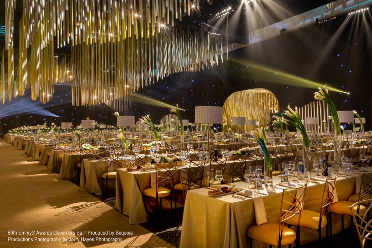 """Awards Shows - 2017 - """"69th Emmy® Awards Governors Ball"""" Produced by Sequoia Productions Photography by Jerry Hayes Photography"""