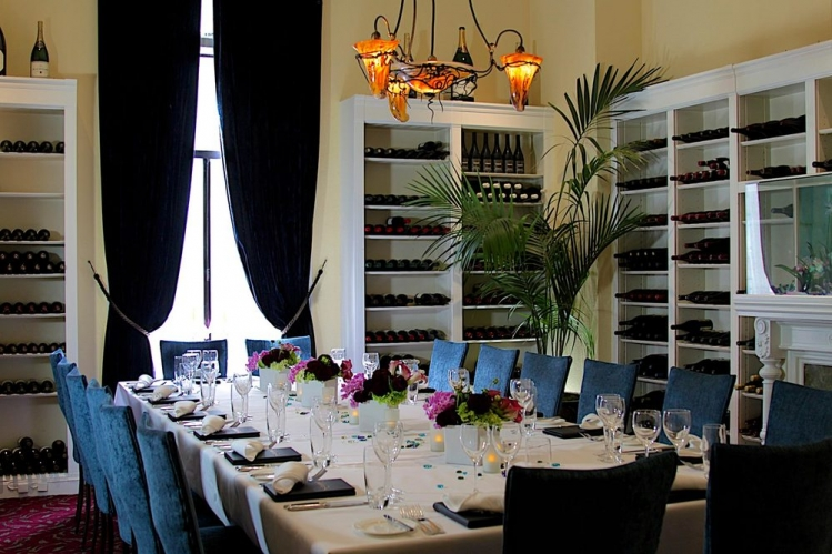 Restaurants - 2013 - Farallon San Francisco, Sevruga Private Dining Room
