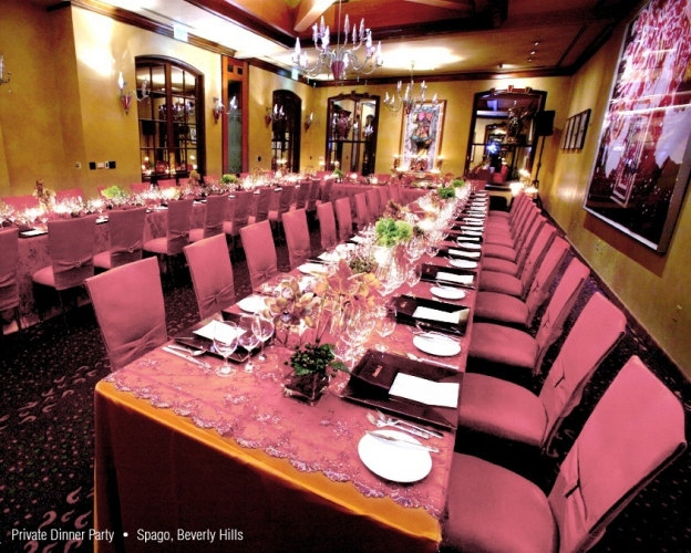 Intimate Events - 2007 - Spago Dinner