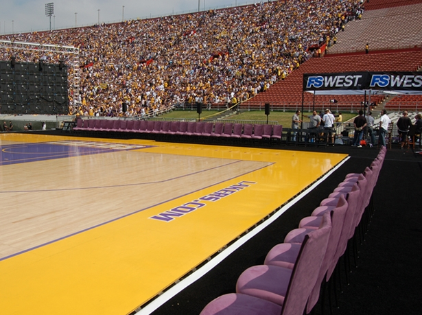 Sports Events - 2009 - Lakers Victory Celebration, Los Angeles Memorial Coliseum