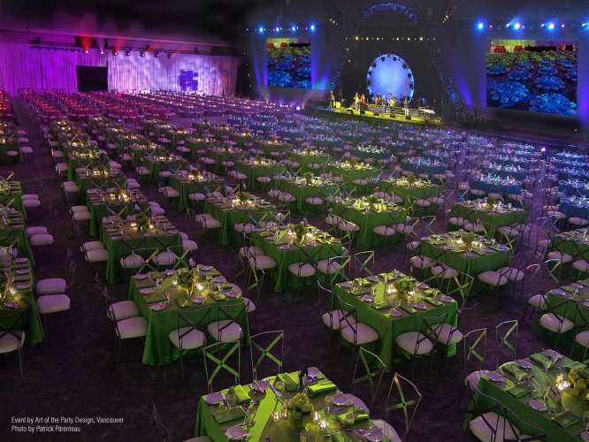Corporate Events - 2007 - Vancouver Convention Center (Art of the Party Design, Vancouver)
