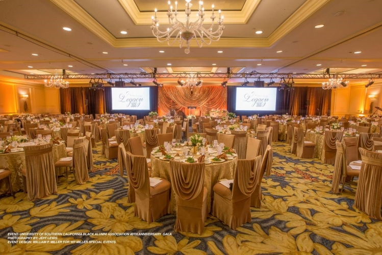 Showcase Events - 2016 - University of Southern California Black Alumni Association 40th Anniversary Gala (Photo by Jeff Lewis)