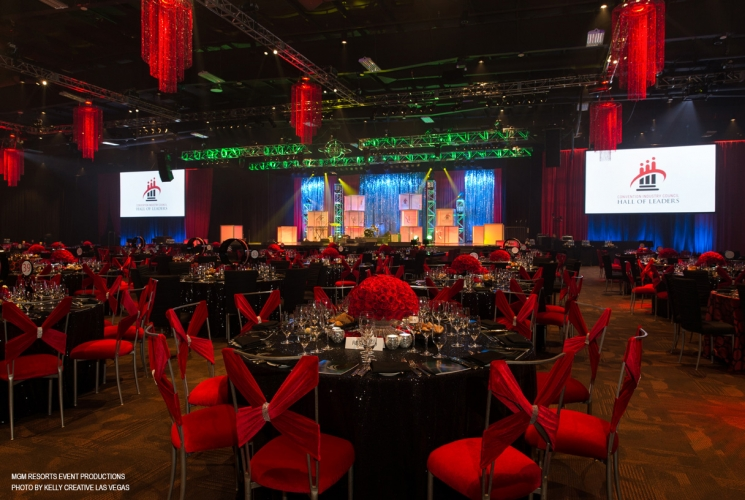 Corporate Events - 2014 - Convention Industry Council Gala by MGM Resorts Events Productions (Photo by Kelly Creative Las Vegas)