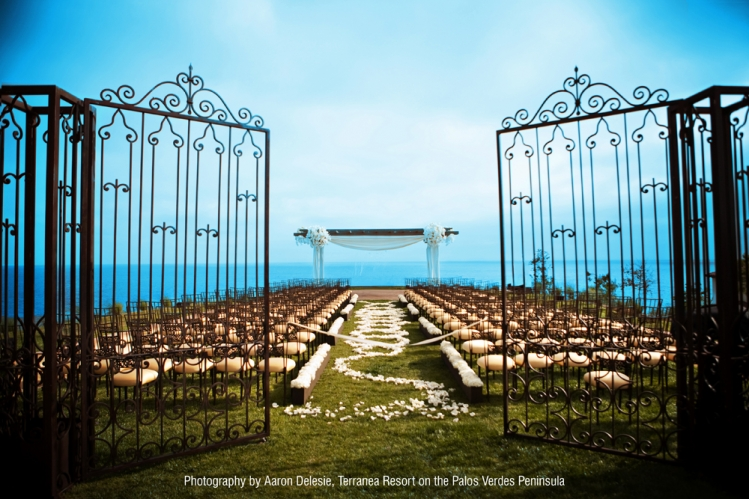 Weddings - 2011 - Terranea Resort, California (Aaron Delesie Photography)