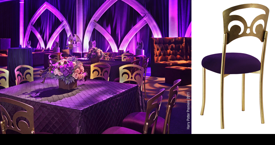 Film and Premieres - 2011 - 'Harry Potter' Premiere Party, New York (Events in Motion, designer8* Event Furniture Rental)